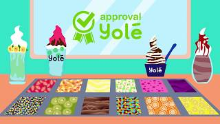 YOLE Frozen Yogurt International Ice-Cream Brand