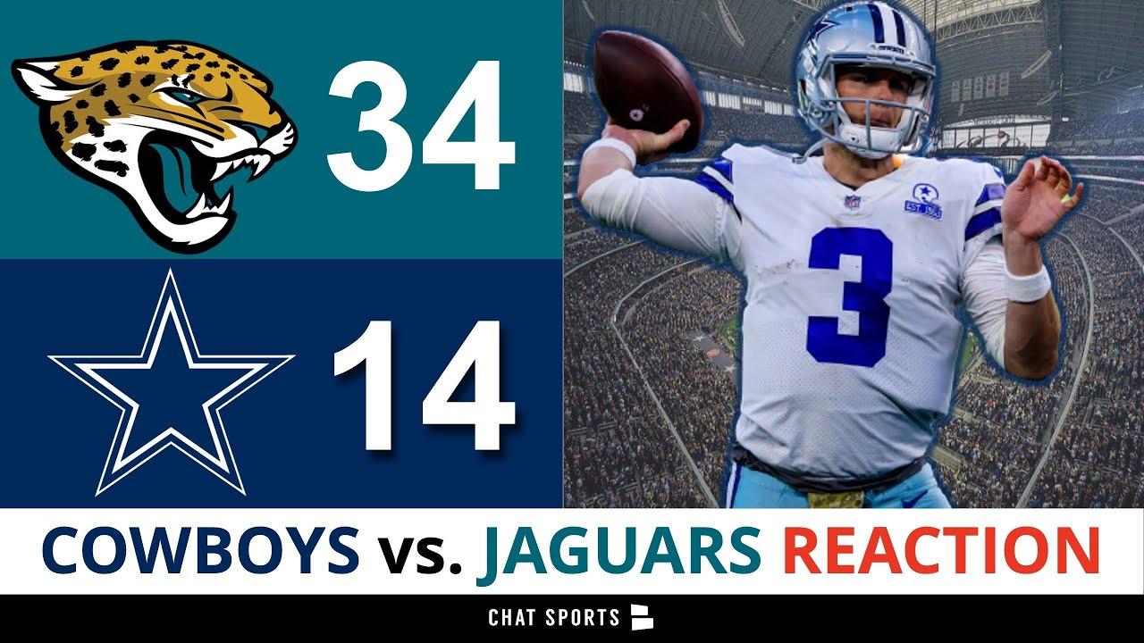 Five big plays: Jaguars 34, Cowboys 14