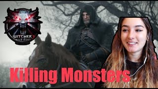 The Witcher 3: Killing Monsters Reaction!