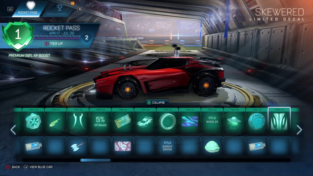Rocket League Rocketpass 3 Review