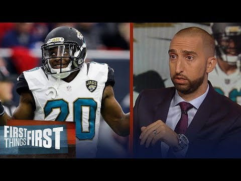 Nick Wright on Jalen Ramsey's QB list: 'He had flames for everybody' | NFL | FIRST THINGS FIRST