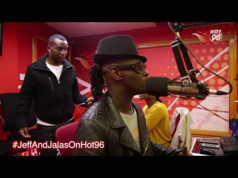 Did nameless sing in Nyashinski's song Aminia?