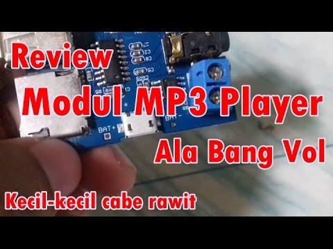 Review Modul MP3 Player Cetar Membahana