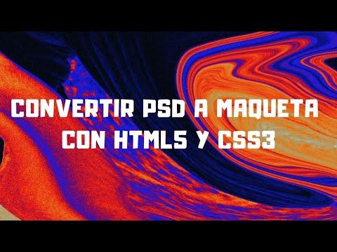Como Pasar De PSD A HTML5 Y CSS3 - Especial 3K Y 1 Aniversario