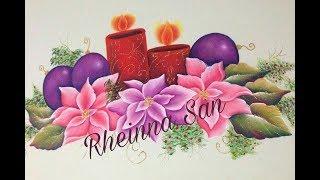 Camino de mesa de Navidad - Rheinna San