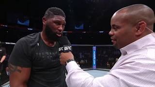 UFC Nashville: Curtis Blaydes Octagon Interview