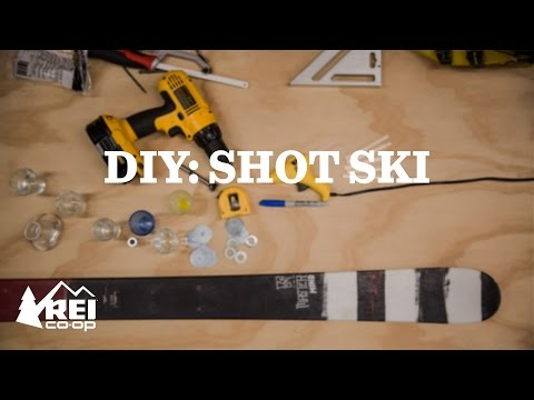 DIY The Shot Ski 2.0   REI