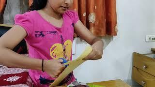 How to make a Paper Bookmark - Creativity with Trisha
