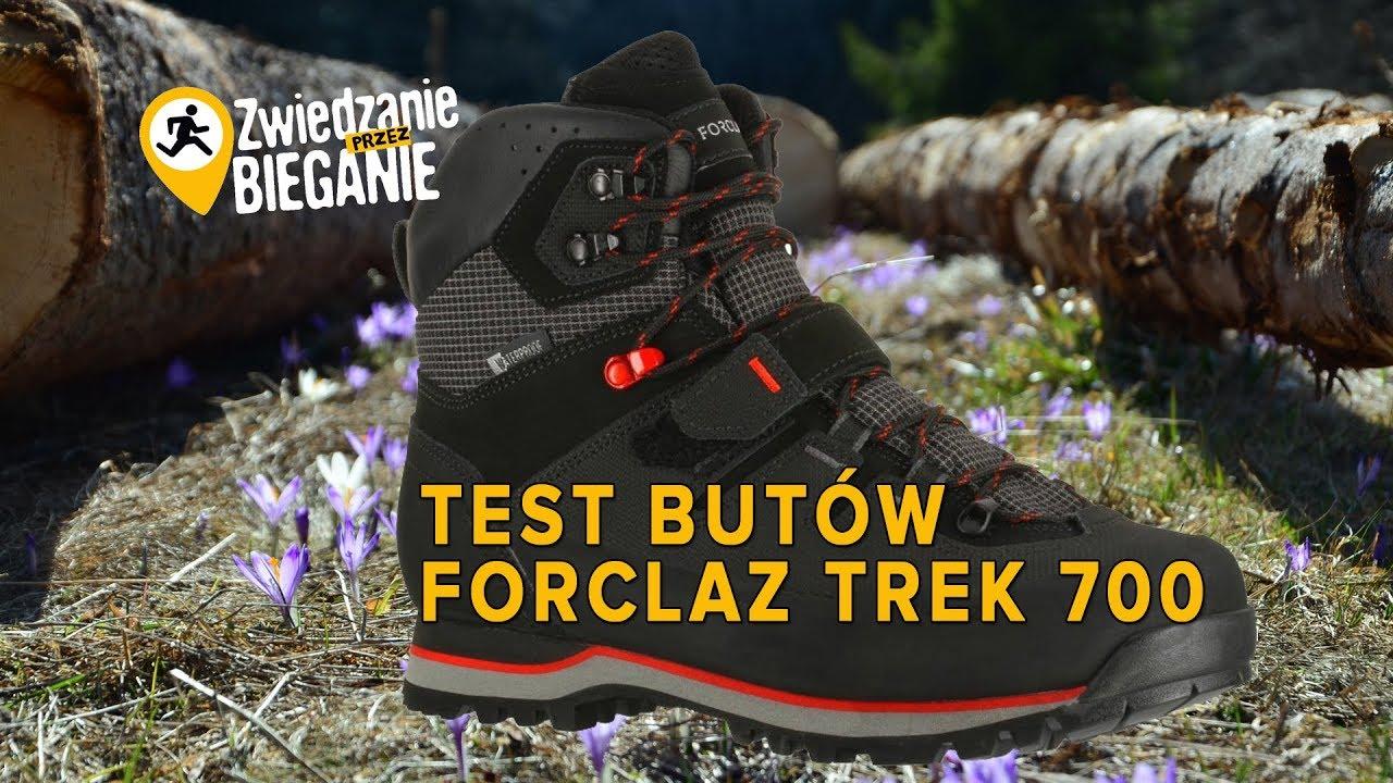 cfcd0ce1 FORCLAZ Trek 700 - test butów turystycznych w góry - YouTube