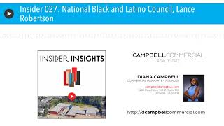 Insider 027: National Black and Latino Council, Lance Robertson