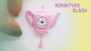Doll Kitchen#12 DIY miniature clock 미니어쳐 시계만들기ミニチュア時計