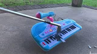 Toy Piano Destruction #2