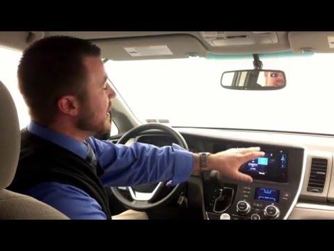 2016 Toyota Sienna rental 1700