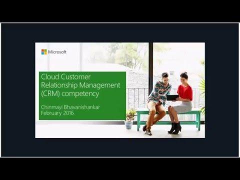 Cloud Competency Attainment: Cloud CRM competency