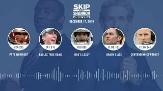 UNDISPUTED Audio Podcast (12.17.18) with Skip Bayless, Shannon Sharpe & Jenny Taft | UNDISPUTED