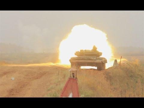 Танк Т-72. Стрельбы