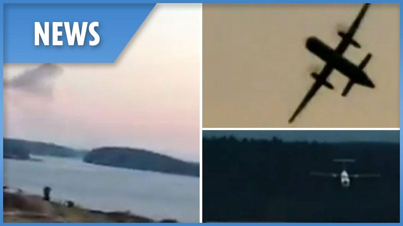 horizon air hijacking pilot performs stunts before crashing youtube