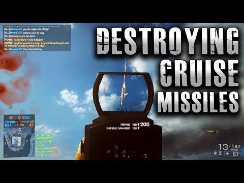 Battlefield 4 Destroying Cruise Missiles