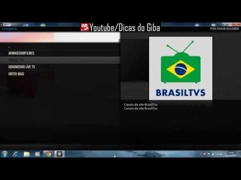 APK android addon BRASIL TVS como Aplicativo