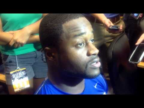 Kenny Anunike Post-Game Interview 9-14-13