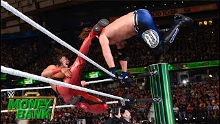 Baixar Styles faceplants after Nakamura's nasty kick: Money in the Bank 2018 (WWE Network Exclusive)