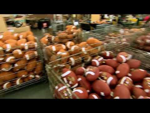Мяч для американского футбола как это сделано How This Is Done