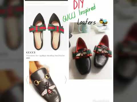 DIY Gucci Inspired Princeton Loafers