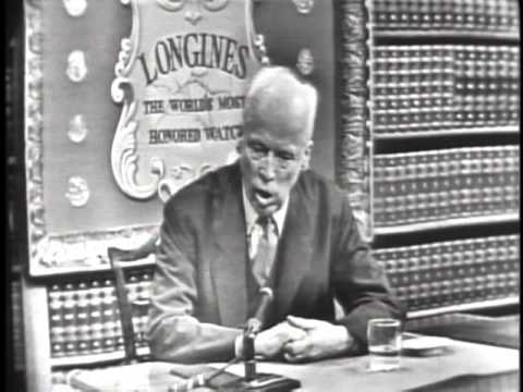 LONGINES CHRONOSCOPE WITH DR. NORMAN THOMAS