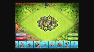 Diseño de Aldea Ayuntamiento 8 Dark Elixir Clash of Clans