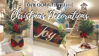DIY DOLLAR TREE TRADITIONAL CHRISTMAS DECORATIONS