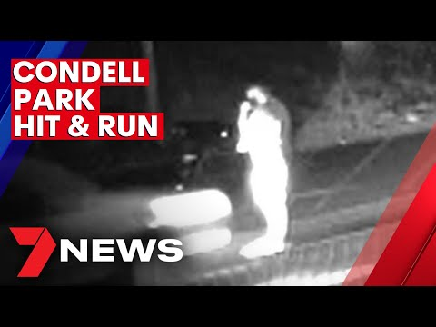 Video shows hit & run in Condell Park | 7NEWS