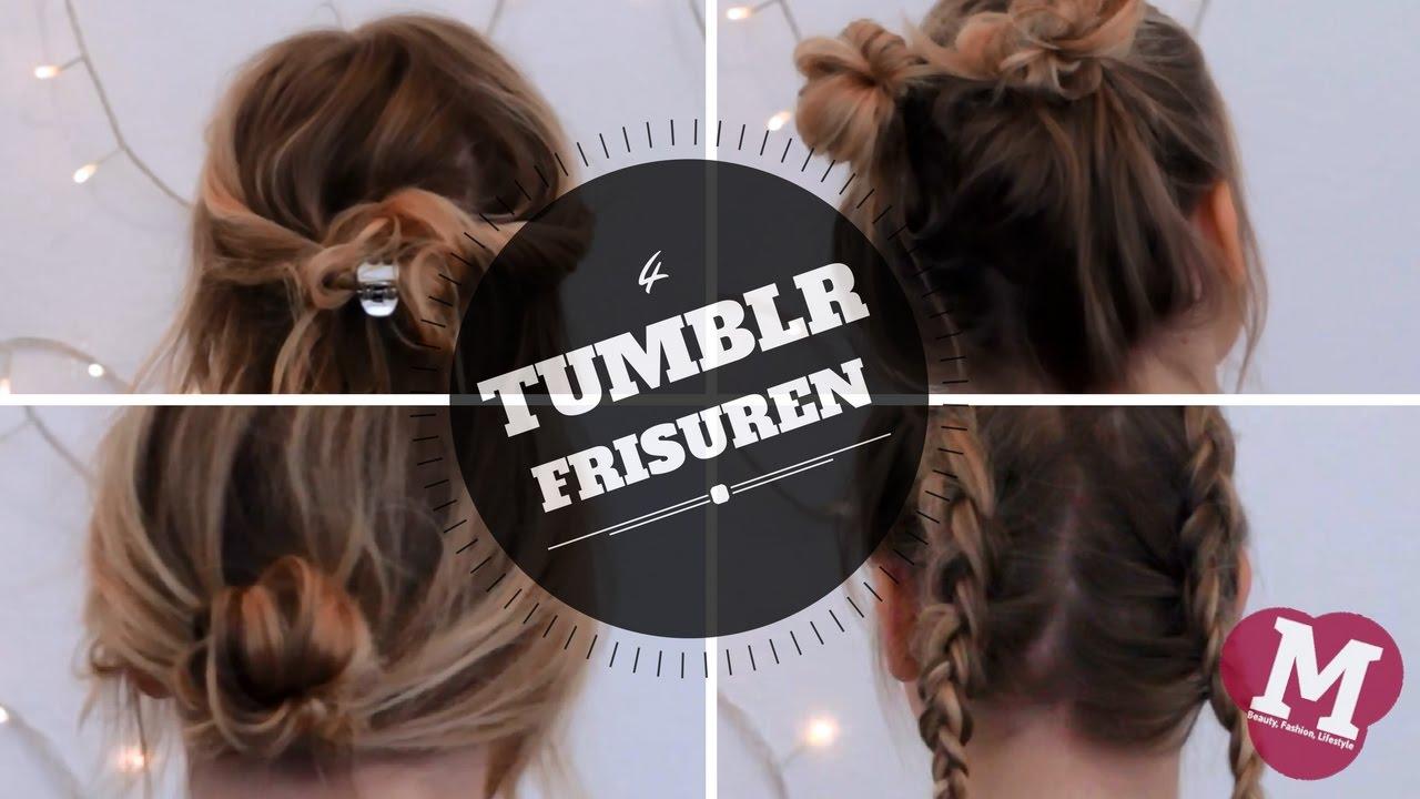 4 Easy Tumblr Frisuren Youtube