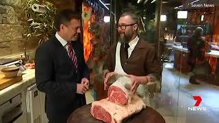 Australia's most expensive wagyu steak sold for $500 a kilogram
