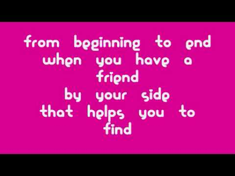Gift of A Friend by Demi Lovato with Download! (Lyrics on screen ...
