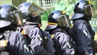 Протест чешских националистов против проживающих в стране циган