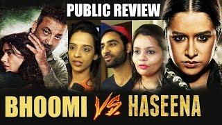 Bhoomi Vs Haseena Parkar   PUBLIC REVIEW