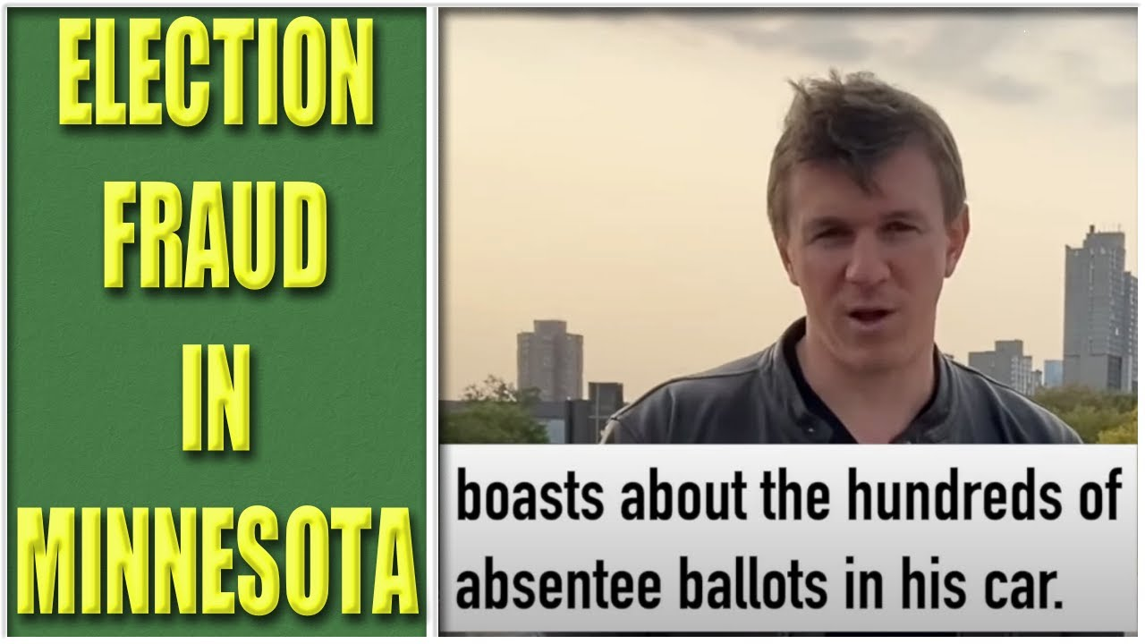 ELECTION FRAUD in Minnesota?  It's Worse Than You Think - MN Lawyer Explains