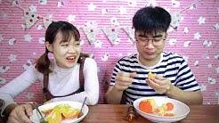 Trận Chiến Đồ Ăn Siêu Nóng 100 Độ C Với Đồ Ăn Siêu Lạnh Đóng Băng - Thử Thách Kinh Dị - Hà Sam TV