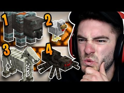 Minecraft: Which Mob Doesn't Belong?