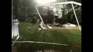 Incendio al camping Lido Toce di Verbania/2