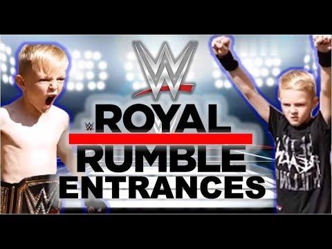 BEST WWE ENTRANCES OF ALL TIME - EVERY ENTRANCE BY PRINCEWILLGAMER ROYAL RUMBLE 2018 EDITION