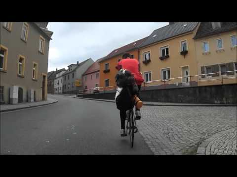 Road bike trip 1300km  Berlin-Grossglockner-Prague