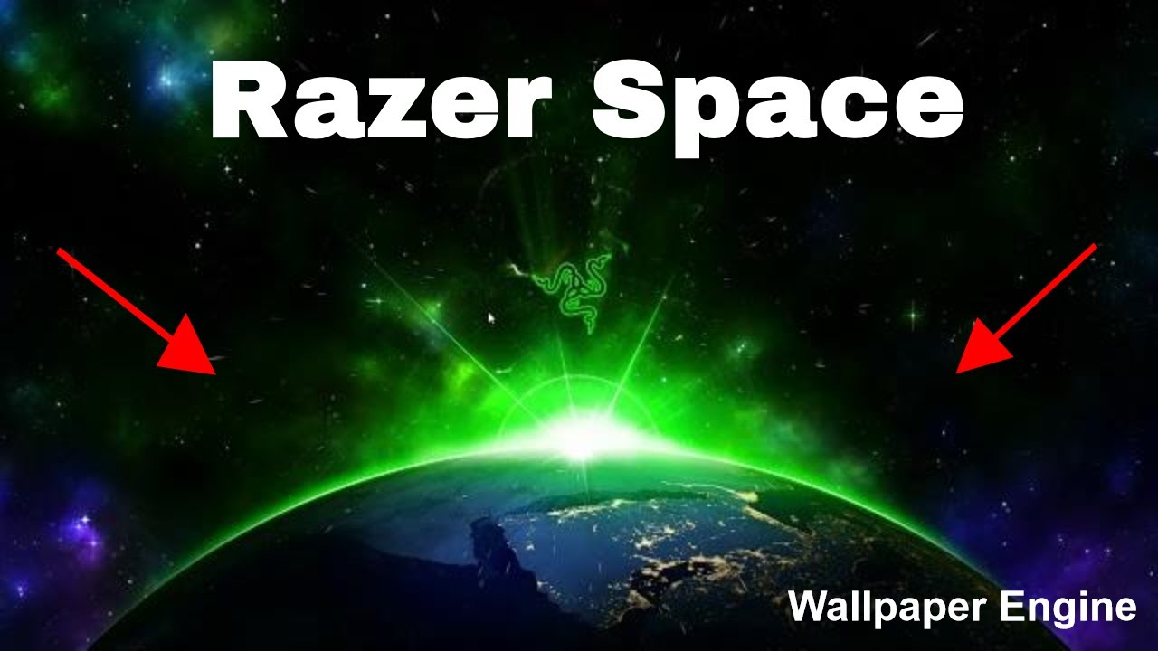 Razer Space - Desktop Wallpaper (Wallpaper Engine)