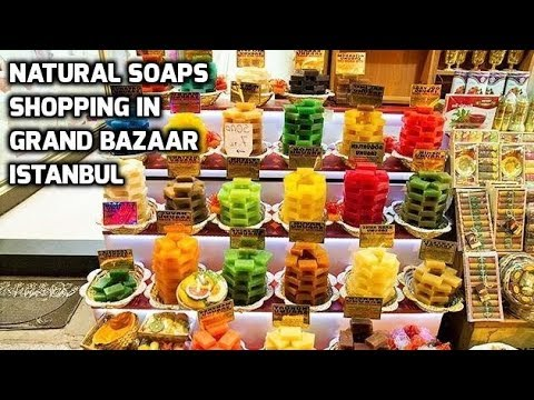 Natural Organic Soaps & Oils Grand Bazaar Istanbul Turkey Travel Shopping