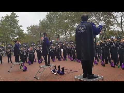 Marching Ravens at Oriole Park