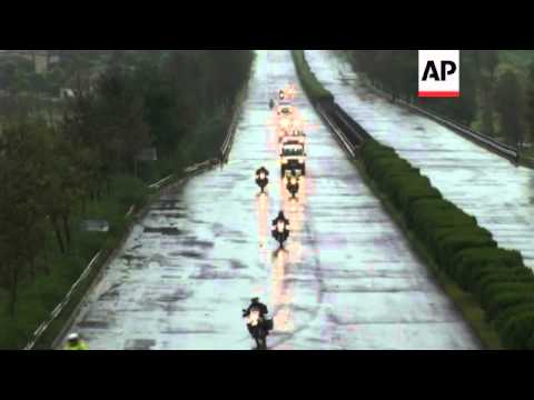 Group of New Zealand bikers cross from North to South Korea