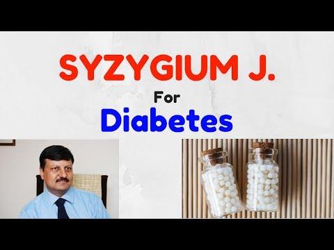 Best Homeopathic Medicine for Diabetes | Syzygium J | Dr. Ketan Shah - Homeopath | Hindi |