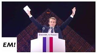Emmanuel Macron au Louvre |Discours du 7 mai 2017