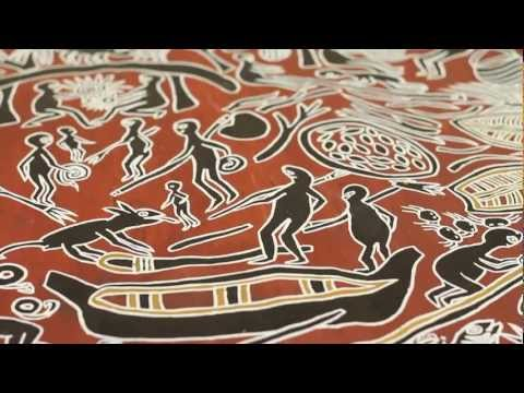 Yirrkala paintings of the Saltwater Collection