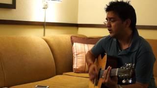 o mere dil ke chain guitar from movie Mere Jeevan Saathi